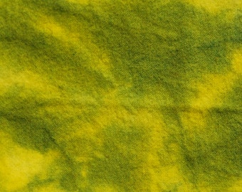 GRASSHOPPER  hand dyed, felted wool for rug hooking and other fiber arts projects