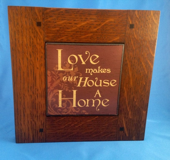 Craftsman style mission style framed art by doveandcarpenter for Craftsman style prints