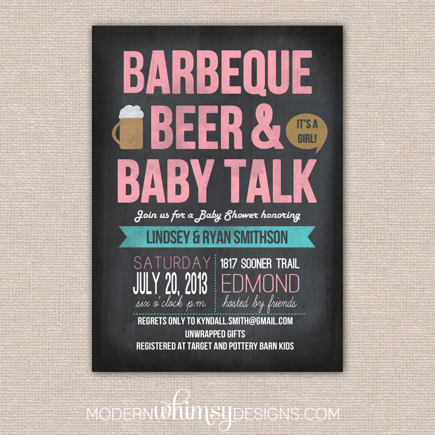 bbq baby shower bbq beer and baby talk theme by modernwhimsydesign
