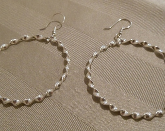 Hoop Earrings - Sterling Silver