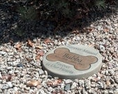 "Engraved Pet Memorial 11"" D  'Forever Missed Forever in Our Hearts'"