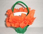 Favors Orange Black Orange Green baskets wedding party favors