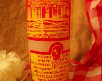 Vintage Aunt Fanny's Cabin Souvenir Beverage Glass
