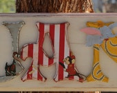 Dumbo Name Plaque - Customize by Name, Colors and Characters!