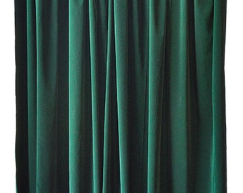 Green Velvet 108 H Curtain Long Panel Drape Wide Custom Pro Muslin Photography Photo Studio