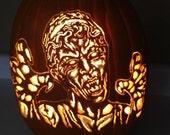 Doctor Who *WEEPING ANGEL* Foam Pumpkin Carve