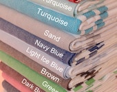 HQ TURKISH TOWEL, Beach Towels, Foutas, Peshtemal, Yoga, Hammam, Best Quality