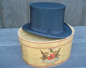 1920's Vintage Top Hat, Knox Fifth Ave, NY.