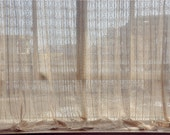 """2 x French Country Provincial Cotton thread Crochet Lace Curtain Panel 011 70""""X70"""""""