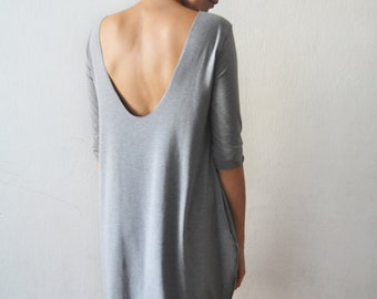 Back low-cut dress II