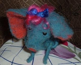 Sadly, little blue elephant...:(
