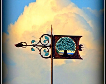 TreeOfLife Weathervane - Special Effects in Artistic Design
