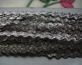 3m rickrack, silver (383)