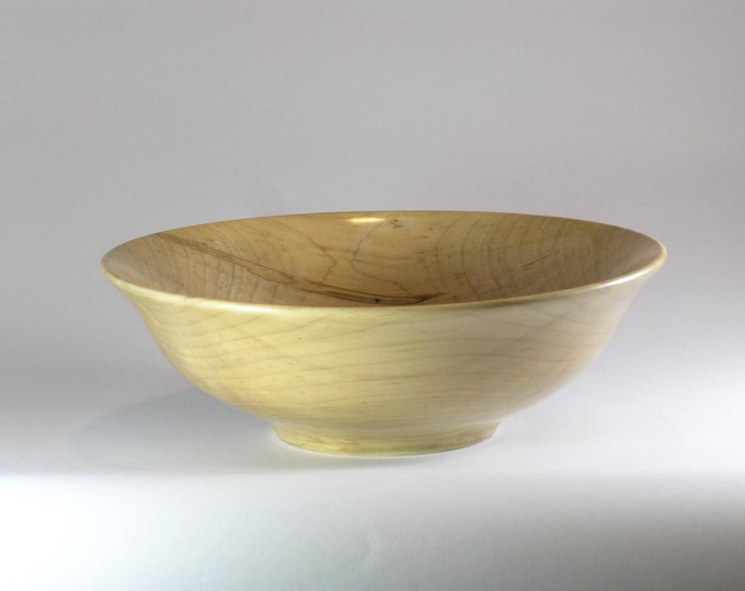 bowl made from ambrosia maple