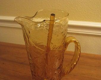 Vintage 60-70s Martini Glass Pitcher
