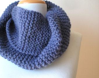ALPACA Hand Knit Cowl - Cozy Cowl Neckwarmer - Fall Winter Accessories