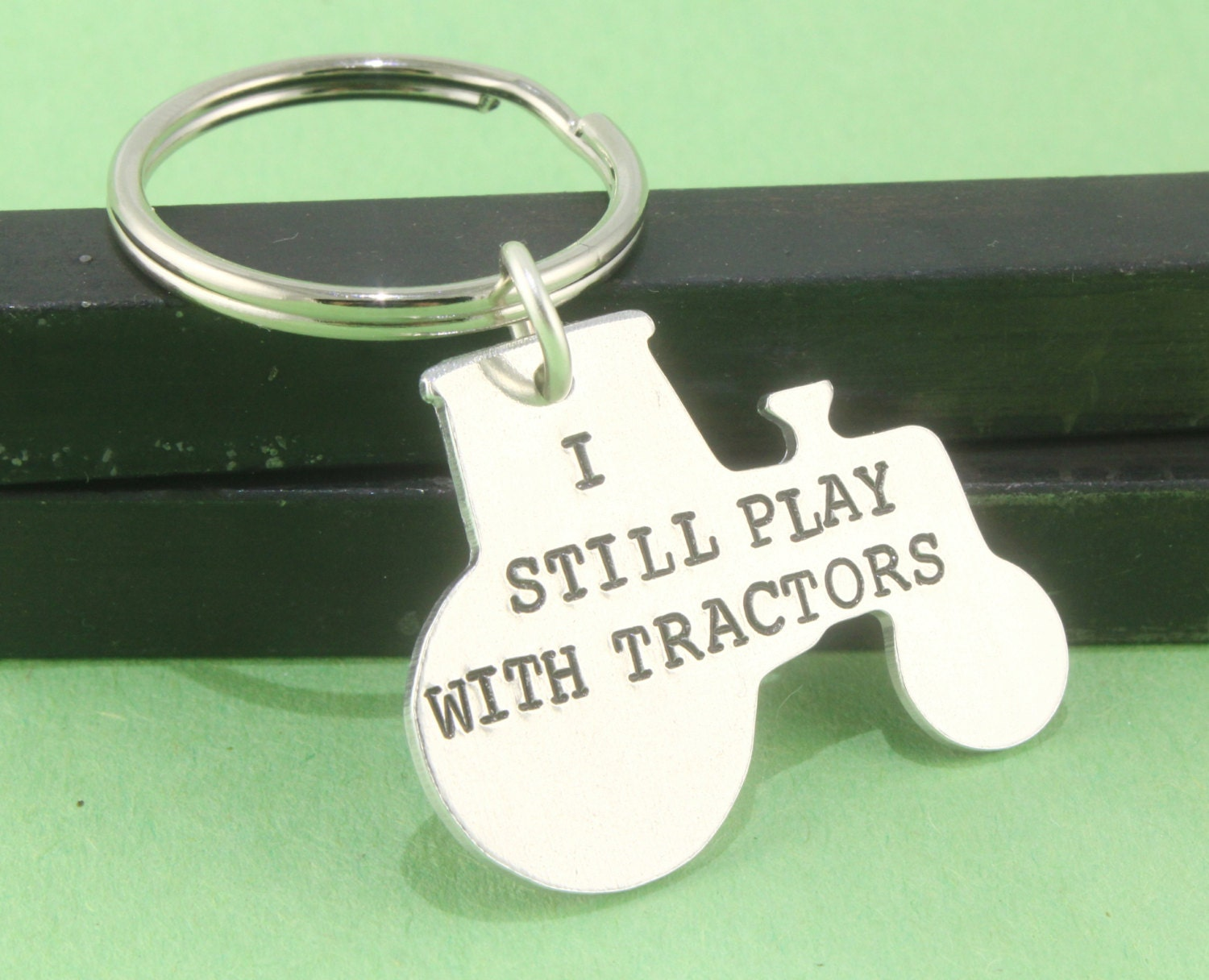 Keychains Lightupcircuitboardkeychain Tractor Keychain Keyring Key Chain Ring Gift For
