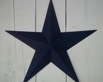 Heavy Duty 16 Inch Barn Star Painted Handcrafted in the USA using Galvanized Steel to Prevent Rusting