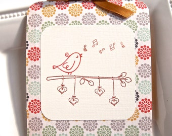 birds mother's day card birthday card for mom baby, Birthday card
