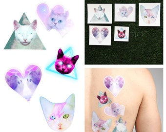 Catastrophic - Temporary Tattoo Pack (Set of 10)