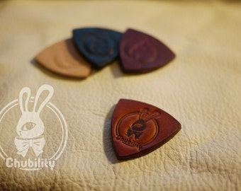 Thick Leather Plectrums for Ukulele