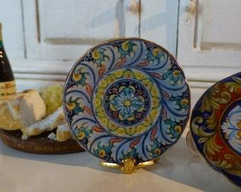 Florence Dollhouse Miniature Plate