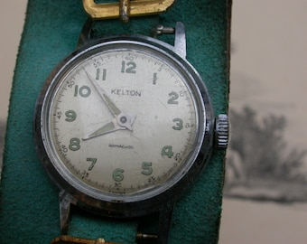 Very nice French vintage Kelton woman wrist  watch in good working condition Stainless Steel wrist watch