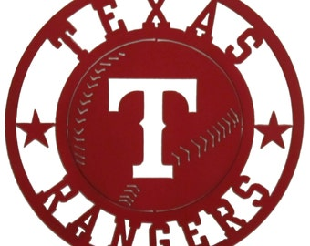 Texas Rangers Sign Metal