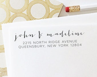 Address Stamp - Self Inking Address Stamp - Wedding Gift - Housewarming Gift