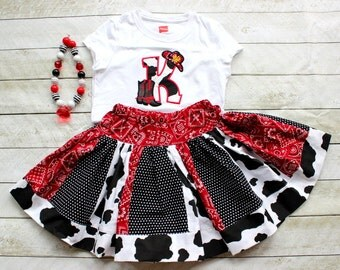 cowgirl outfit birthday cowgirl outfit cowboy set rodeo outfit rodeo skirt set cowgirl skirt set cowboy boot cowboy hat shirt toddler cow