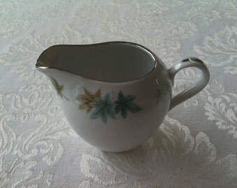 vintage creamer - Four Seasons pattern from Grant Crest