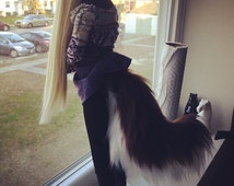 BJD Curved Dog Tail - Variety of Colors