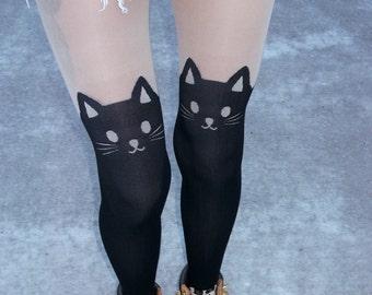 Footless Tights - Footless tights and leggings at