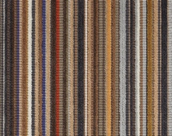 "Paul Smith ""Epingle Stripe Caramel"" - Maharam - modern accent Pillow -  17"" X 17"""