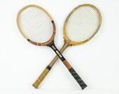 Vintage Spalding Tennis Rackets