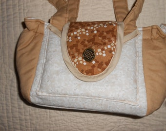 SALE! All cotton, lightweight, small sized summer purse