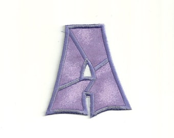 Solid Patchwork Letter Patch! Custom Made! LET6