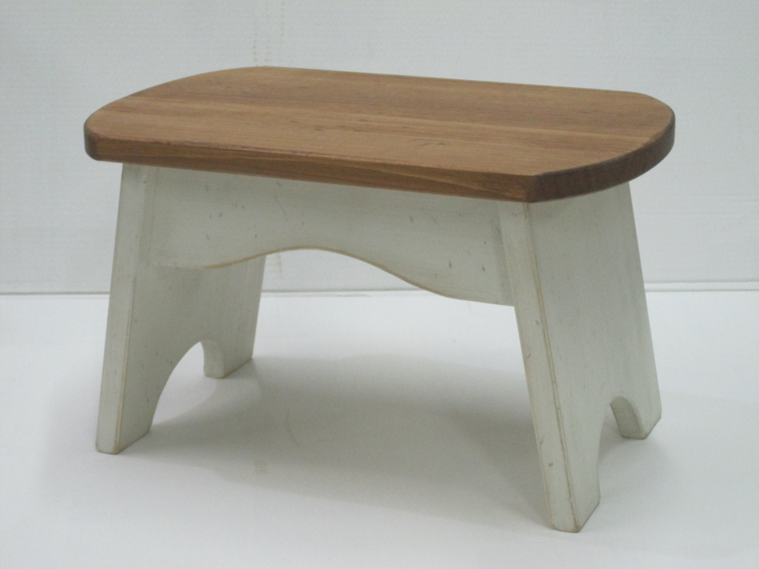 Wooden step stool for kids foot small