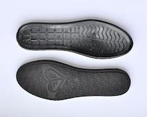 SOLE. Вoots soles-Rubber soles for  crochet shoes - Winter shoes, snow boots soles - black rubber soles for shoes