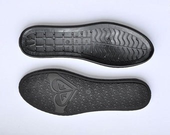 SOLE. Вoots soles-Rubber soles for  crochet shoes - Winter shoes, snow boots soles - black rubber soles for shoes