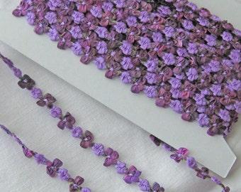 Silk Ribbon Rosette Trim from France - New - Bud & Bows