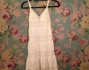 Pretty vintage white dress