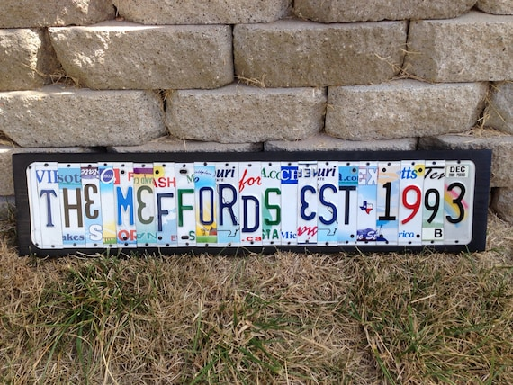 Traditional 20th Wedding Anniversary Gifts: 20th Wedding Anniversary Aluminum Gift Custom Recycled LICENSE