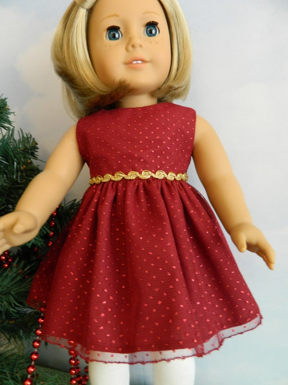 18 quot doll clothes christmas outfit for 18 quot american girl doll or