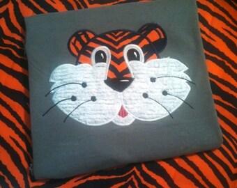 Adult Aubie Tiger Auburn Shirt-Short or Long Sleeve - WAR EAGLE - College Tee - School Spirit