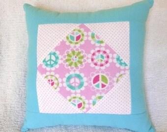 Flower Power Children's Pillow