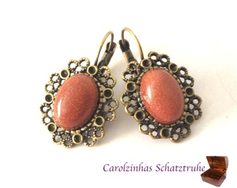 Cinnamon - earrings