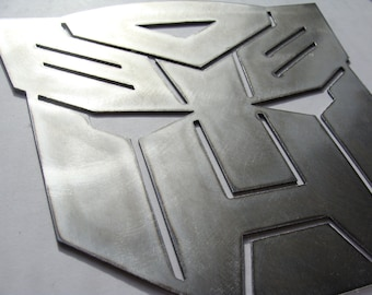 Autobot Transformers Insignia Metal Art