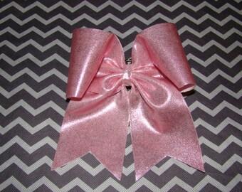 Light Pink Mystic Cheer Bow
