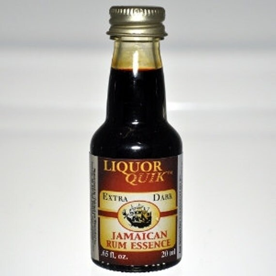 Liquor Quik Ultra Dark Jamaican Rum Essence Home Distilling Flavoring .65 fl oz